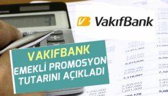 VakıfBank Emeklilere Ne Kadar Promosyon Veriyor ?